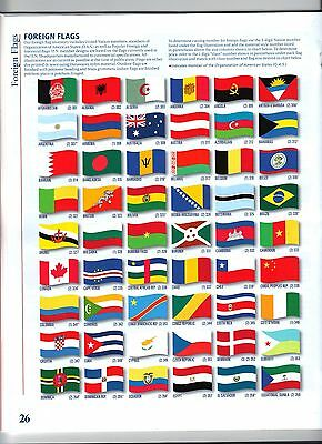 Foreign Flags Of The World (New)