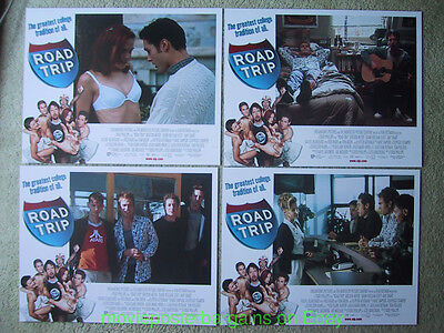 ROAD TRIP LOBBY CARD size 11x14 MOVIE POSTER Complete Set of 8 Cards - Tom Green