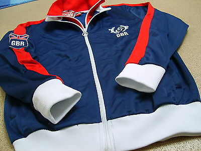 Genuine Track & Field Country Men's GBR Track Jacket/ Top, R.R.P £44.99