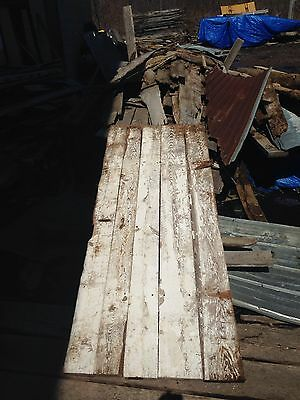 "Antique Barn Wood Door 84"" x 33"""