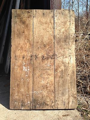 "Antique Barn Wood Door 46 1/2"" x 30 1/2"""