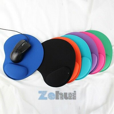 Thicken Mouse Pad Comfort Wrist Rest Mat Pad For Optical / Trackball Mouse Mice