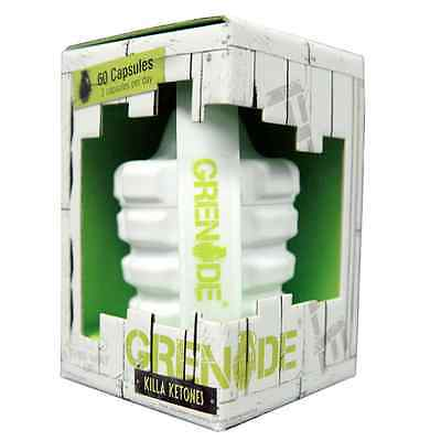 Grenade Killa Raspberry Ketones Weight Loss Pills Fat Burner Diet Tablets  60 Ct