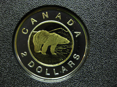 2003 Canadian Silver Proof Toonie ($2.00)
