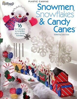 New Sewing Fabric Material Christmas Winter Snowman Candy Canes Angel Bread BTY