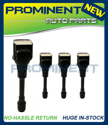 4 pc Ignition Coil For Nissan Altima Sentra 22448-ED000 Infiniti FX50 UF549