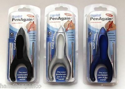 PENAGAIN BALLPOINT PEN - great for RSI, arthritis & carpal tunnel sufferers!