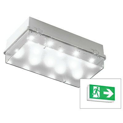 Cooper Lighting Zetalite 3 Emergency LED Bulkhead Luminaire - ZEL3ICEL