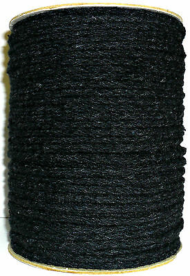 5Mm Black Soft Cushion Piping Cord *Reduced To Clear* Choose Length, Art No:f038