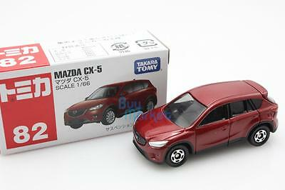 NEW Takara Tomica Tomy #82 MAZDA CX-5 RED Scale 1/66 Diecast Toy Car Japan
