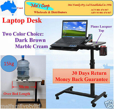 Notebook Table, Laptop Desk, Adjustable Computer Stand, Over Bed Food Tray