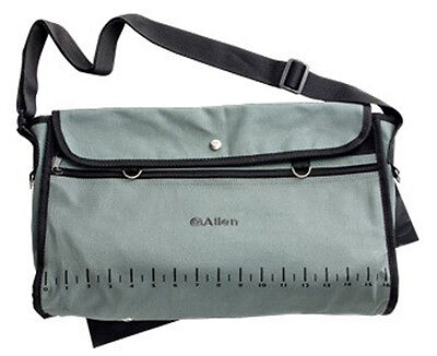 New Allen Canvas Fishing Creel Bag,Fish/Tackle Carrying Case w/ Pouch,6354