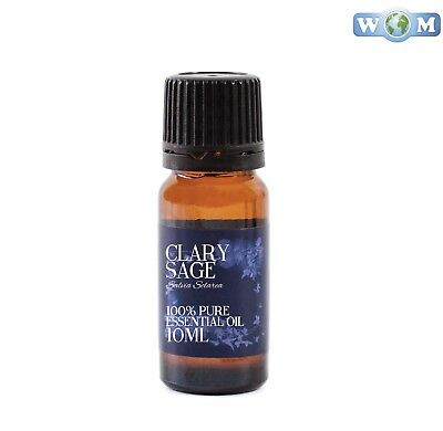 Clary Sage Essential Oil 10ml 100% Pure (EO10CLARSAGE)