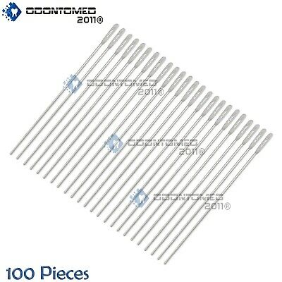 "100 Pcs Probe With Eye 5.5"" Surgical Dissecting Instrument"