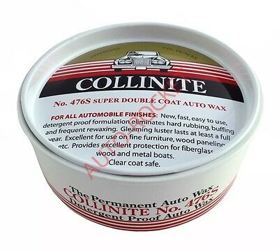 Collinite No 476s Super Double Coat Auto Wax 9oz, Protects & Lasts 1 Year