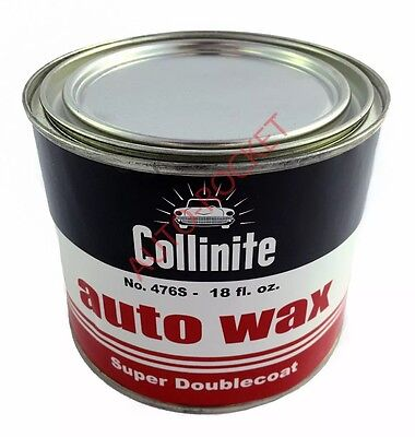 Collinite No 476s Super Double Coat Auto Wax 18oz, Protects & Lasts 1 Year