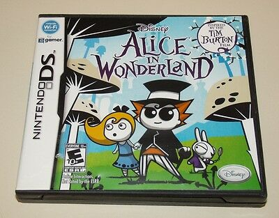 Alice in Wonderland  (Nintendo DS, 2010) Complete