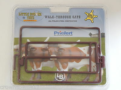 1/16th Little Buster Farm Toy Walk-Through Gate All Welded Steel Construction