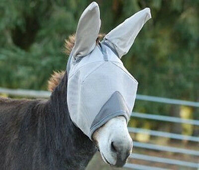 Cashel Fly Mask Crusader Warmblood Standard With Ears Mule Riding Sun Protection