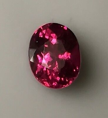 Natural Fine Raspberry Red Rhodolite Garnet - Oval - Sri Lanka - Top Grade