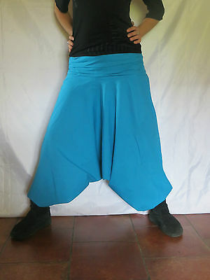 Hippie Baba Cool Style Sarouel Ethnique Africain Turquoise