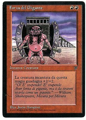 Forza del Gigante - Giant Strength carte MAGIC Leggende (ITALIAN LEGENDS) EXC
