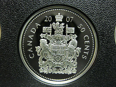 2007 Canadian Silver Proof 50 Cent ($0.50)