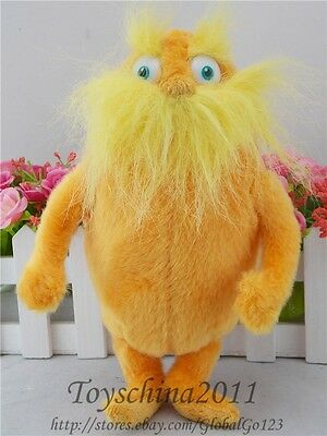 """Free Shipping Dr. Seuss The Lorax Plush Toy, Lorax Baby Toy Gift  9"""" Boys & GirL"""