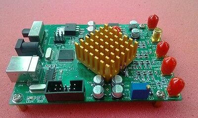 100Mhz Sine Wave AD9854 DDS Signal Generator with software * via PC * FSK BPSK