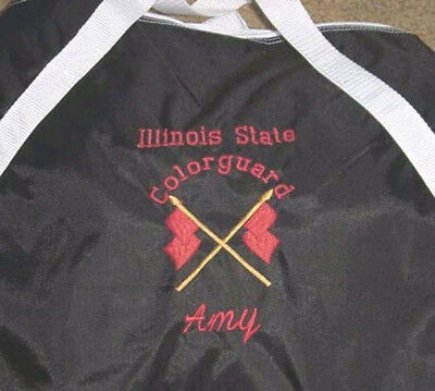 Personalized Girls ColorGuard WinterGuard Flag Drill Team Band Duffle Bag