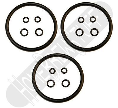 3 x Keg O-Ring Set Gasket Seal Rebuild Kit Fits Ball & Pin Lock Draft Beer Soda
