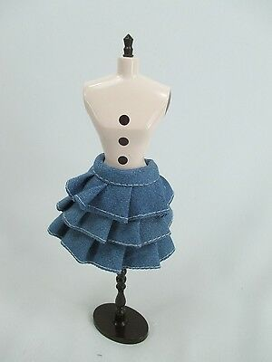 Handmade clothing Layers Skirt for 1:6 scale doll Barbie Blythe #  B-16