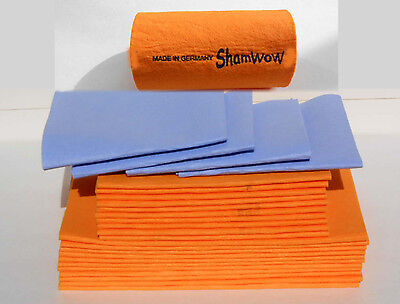 "22 Sham-Wow Shammy Shammys - Super Absorbent Towels - ""GREAT PRICE"" WOW"