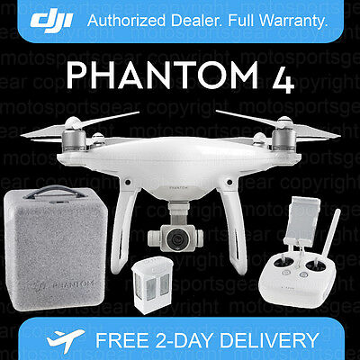 Dji Phantom 4 Drone With 4K Camera And Free Case. Just Released