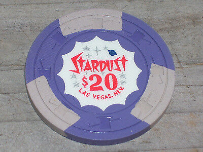 $20 4Th Edt. Gaming Chip From The Stardust Casino Las Vegas Nv