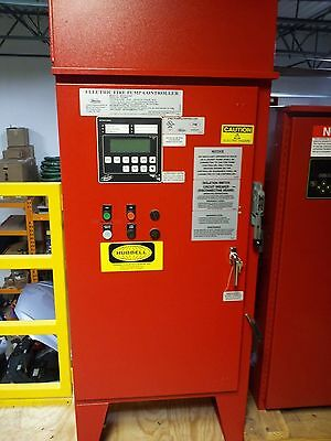 Metron Fire Pump Controller MP435-20-208C 20 HP 3 Phase 300 PSI max 208 Volt