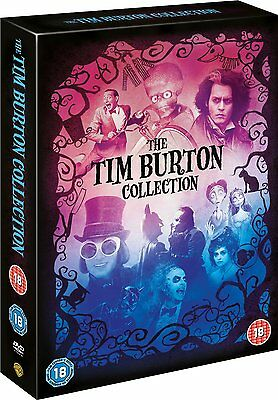 "Tim Burton 8 Movie Collection 8 Discs Collector's Dvd Box Set ""new&sealed"""
