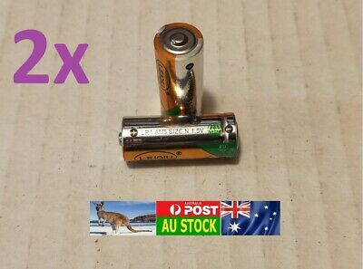 2 x VAVTT Long Life LR1 910A E90 AM5 Lady N size 1.5V Alkaline Battery Fast Ship