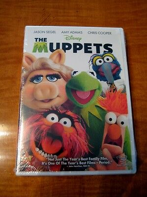 The Muppets (DVD, 2012)NEW/SEALED