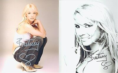 "Britney Spears 10 x 8"" Signed PP Autograph"