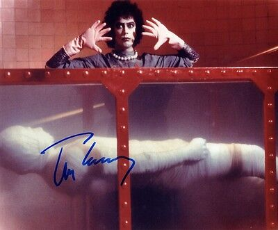 "Tim Curry - Rocky Horror Show 10 x 8"" Signed PP Autograph"