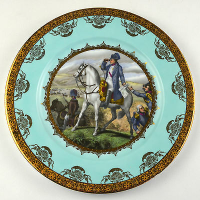 J K W Fine Porcelain Western Germany Dinnerware Dinner Plate West Heinrich China