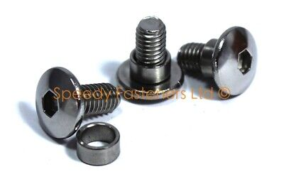 Stainless Steel Custom Yamaha Fairing Bolt Bolts + Collars Shoulders Select Size