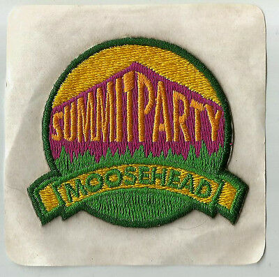 Moosehead  Summer Party Patch