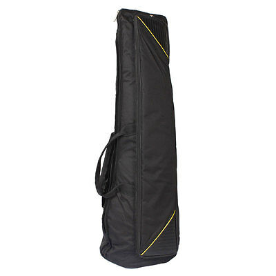 New Tenor Trombone Soft Gig Bag Case Double Aglet Design Black