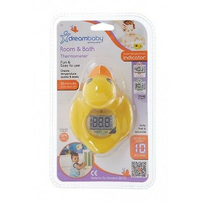 New Dreambaby Bath Room Digital Thermometer Duck Baby Safety Dream