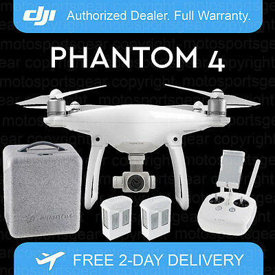 Dji Phantom 4 Drone With 4K Camera, Free Case And Extra Battery. Just Released