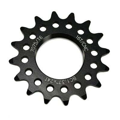 Taiwan Made 7075 Alloy 17T Tooth Fixie Fixed Gear Track Cog Gold