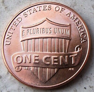 United Stated U.S 2013 D America SHEILD One Cent .1c Uncirculated Coin Unc Nice