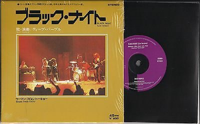 7' DEEP PURPLE Black Night (Live) / Woman From Tokyo - RSD 2014 Edition - SEALED